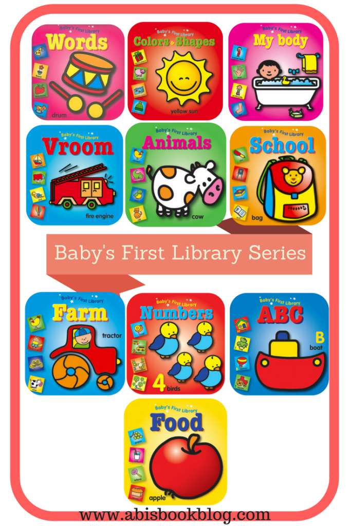 Abis Book Blog and Reviews : Baby's First Library Series